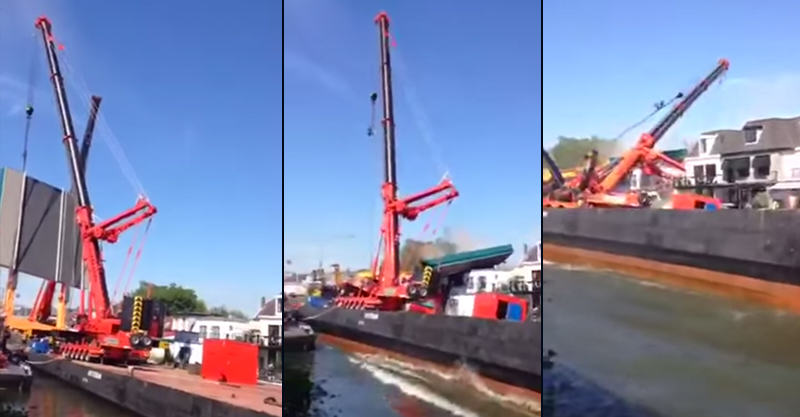 b61eEMNdF1.jpg Shocking Video Shows Crane Collapse Onto Houses In Alphen, Netherlands
