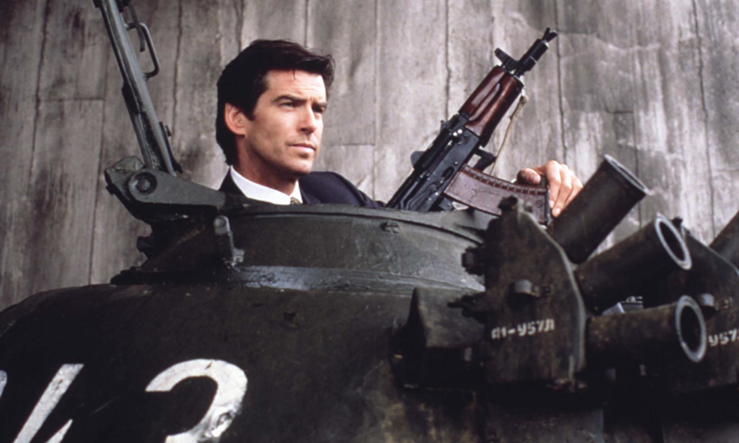Pierce Brosnan Weighs In On Who The Next James Bond Will Be Pierce Brosnan in GoldenE 008 Ronald Grant Archive