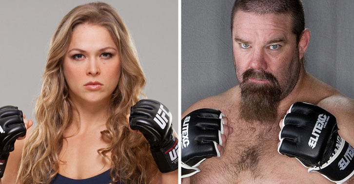 SM22 UFC Veteran Says He Will Pay Ronda Rousey $1,000,000 If She Can Beat Him