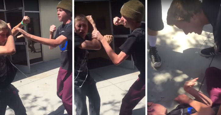 Bully Who Punched Blind Student Gets Dealt Some Harsh Justice SM32