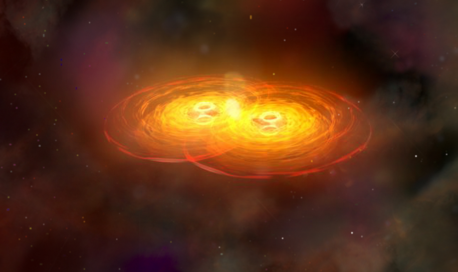 Two Black Holes Discovered On A Disastrous Collision Course Screen Shot 2015 09 21 at 11.55.24