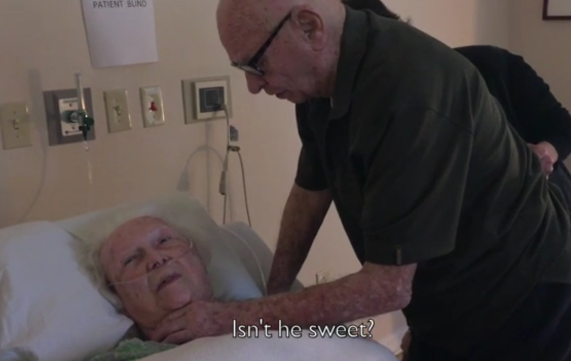 Screen Shot 2015 09 22 at 02.06.30 Husband Of 73 Years Serenades Dying Wife With Their Song One More Time