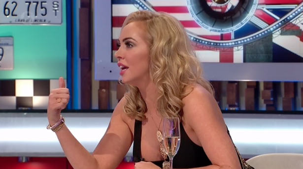 Live CBB Panel Show Taken Off Air After Woman Gets Glassed Screen Shot 2015 09 22 at 233545