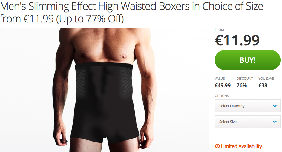 Screen Shot 2015 09 24 at 00.21.55 Painfully High Waisted Boxers Give Men The Perfect Excuse To Skip The Gym