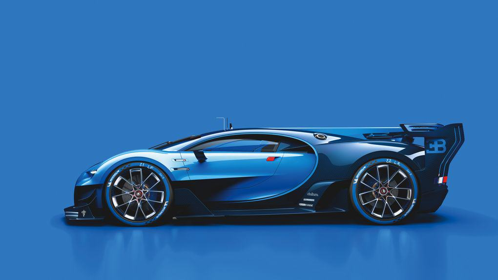UNILAD 02 Bugatti VGT ext side CMYK high.03 The New Car Bugatti Created For Gran Turismo 6 Is Achingly Beautiful