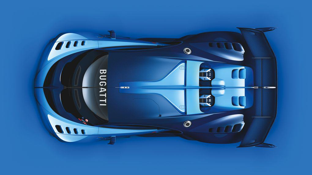 UNILAD 05 Bugatti VGT ext top CMYK high.02 The New Car Bugatti Created For Gran Turismo 6 Is Achingly Beautiful