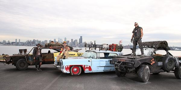 UNILAD 12 Mad Max Uber Taxis Have Been Driving People Around Seattle