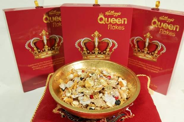 UNILAD 133 Kelloggs Create Cereal With Edible Jewels To Celebrate The Queens Record Reign