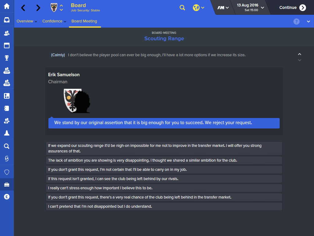 Football Manager 2016 Has A Release Date And A Ton Of New Features UNILAD 2933991 fm 2016 07   board requests 14413850615