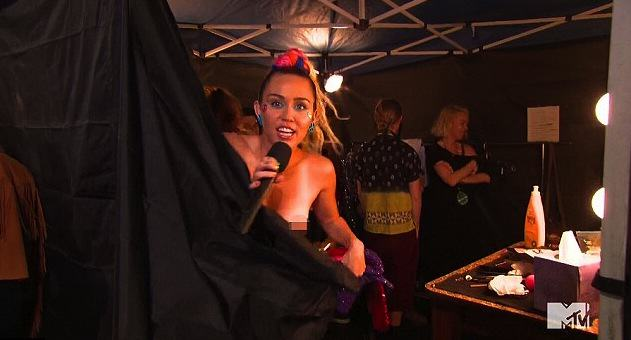 Miley Cyrus And MTV Blasted For Sexualisation And Celebration Of Drugs At VMAs UNILAD MTV Nip4