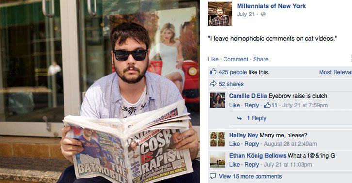 UNILAD Millenials2Thumb6 Humans Of New York Parody Account Rips Hipsters Apart