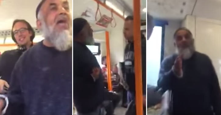 UNILAD TN163 This Argument About Feet On A Train Seat Quickly Becomes One About Religion
