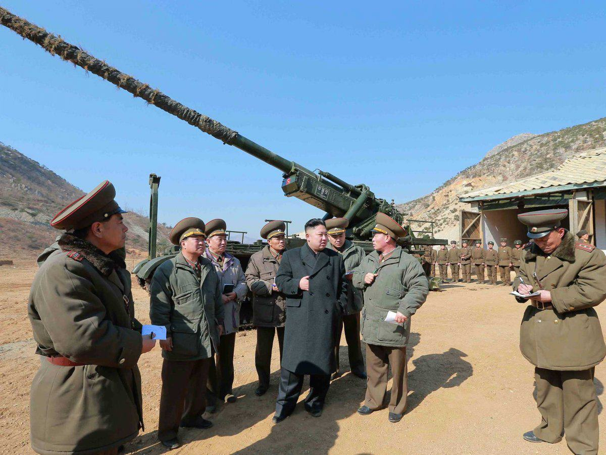 UNILAD and those are actually small in comparison with some of the massive fixed guns in place to fire on south korean islands if a conflict breaks out8 New Report Shows Just How Much Heat North Korea Is Packing