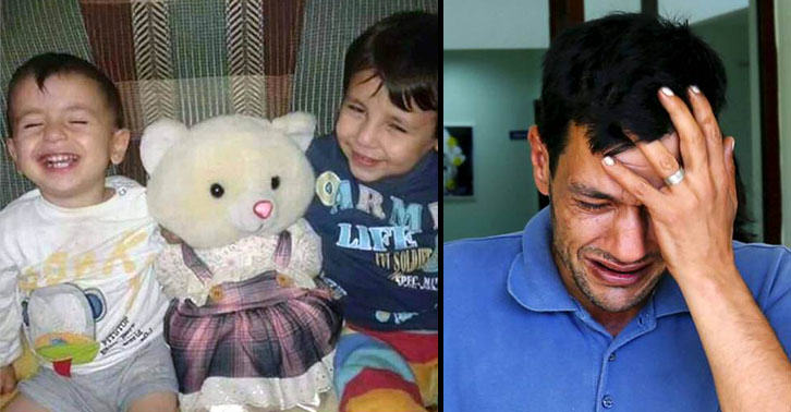 UNILAD aylin42 Father Of Drowned Syrian Boy Had To Let One Go To Save The Other