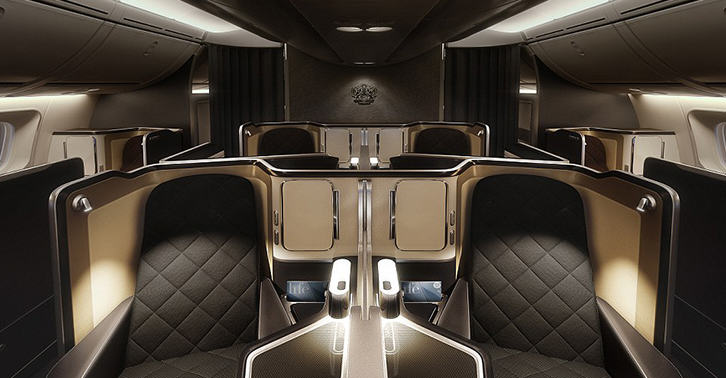 British Airways Unveils Their New INSANE First Class Cabin UNILAD ba36