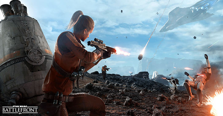 UNILAD battlefront25 Star Wars Battlefront Unveils New Information For Drop Zone Mode