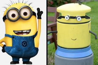 One Town Wakes Up And Sees All Their Bins Painted To Look Like Minions