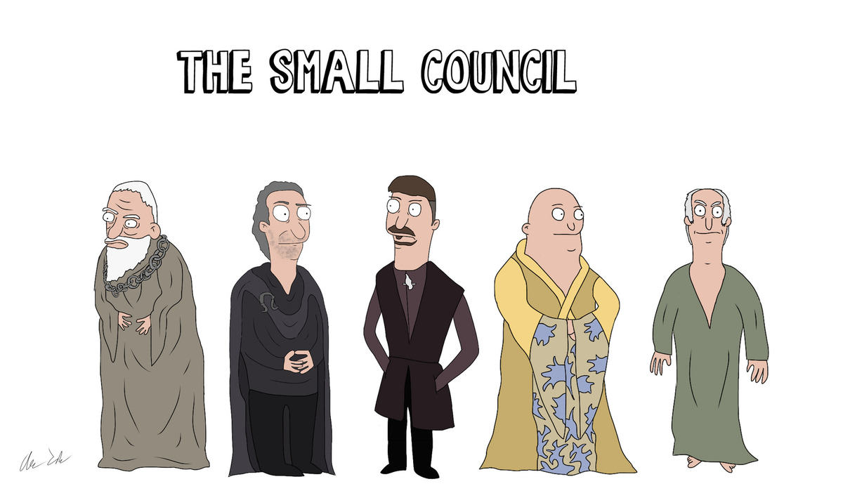 Someone Has Drawn Game Of Thrones Characters In The Style Of Bobs Burgers UNILAD burg55