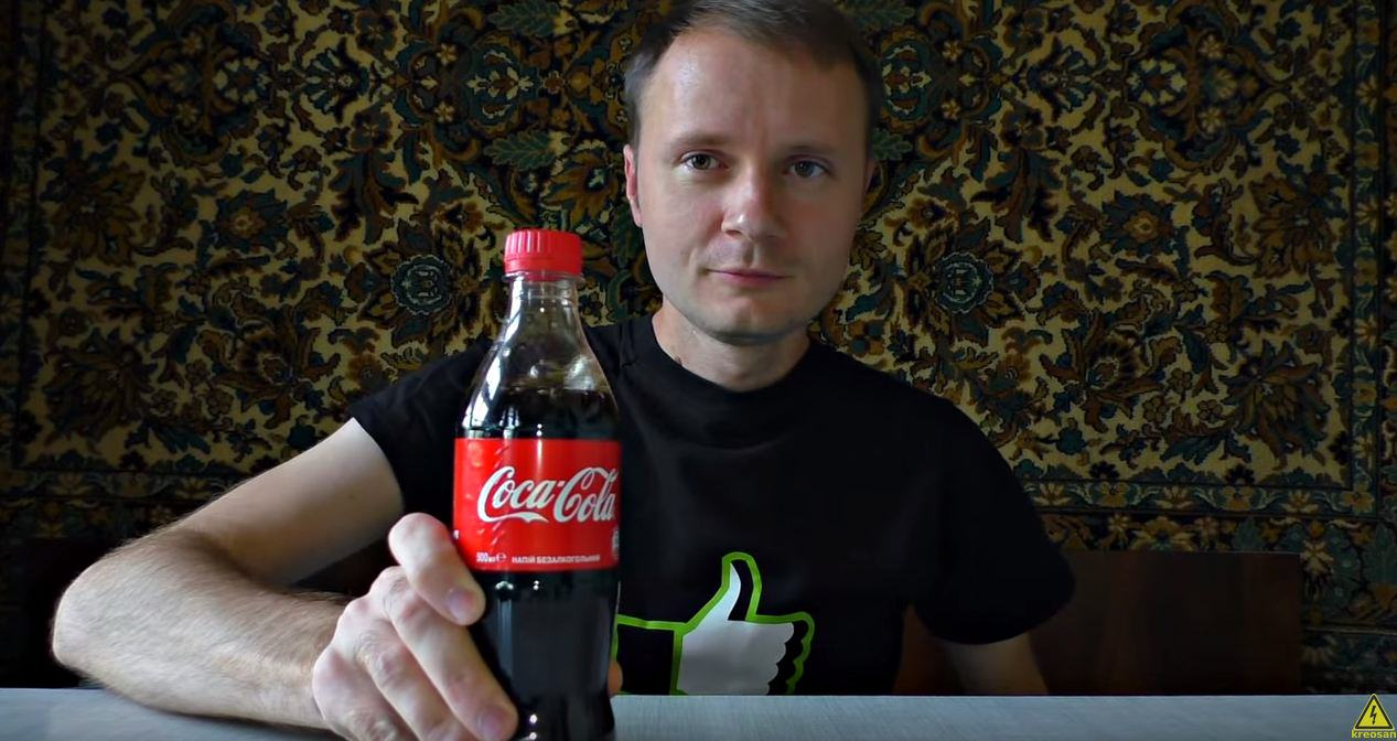 UNILAD coke16 One Man Decided To Pump A Bottle Of Coke With Propane, Guess What Happens Next?