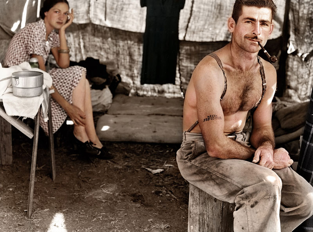 UNILAD colour photos 96 Some Of Historys Most Iconic Photos Have Been Transformed From Black And White To Colour