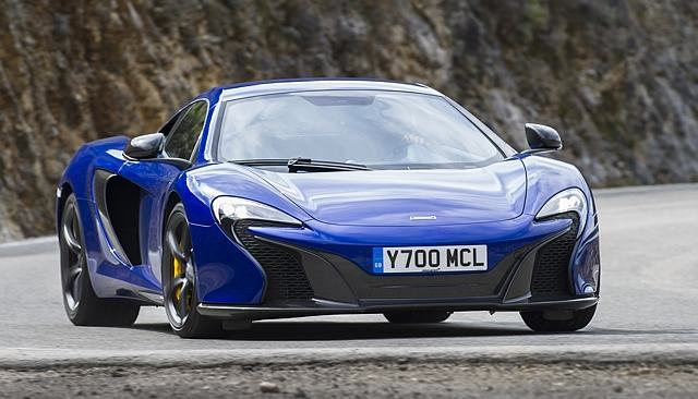UNILAD mclaren 650 blue3 640x366 Australian Police Now Have A $450,000 McLaren 650s Supercar