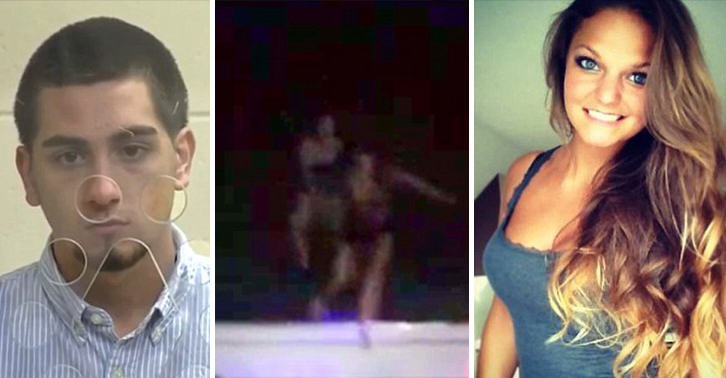 Shocking Video Shows Woman Being Pushed Off The Roof At House Party UNILAD roof push 25