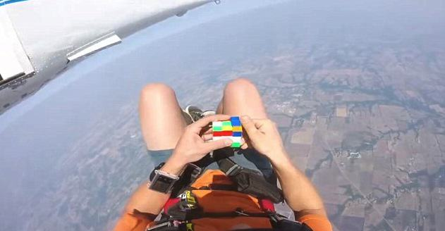 UNILAD rumble 2 3228981 image a 6 14418737217296 Badass Skydiver Completes Rubiks Cube Before He Even Opens His Parachute