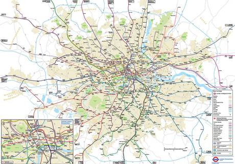 UNILAD tubemap13 TfL Reveal A Secret Geographically Accurate Tube And Rail Map For London