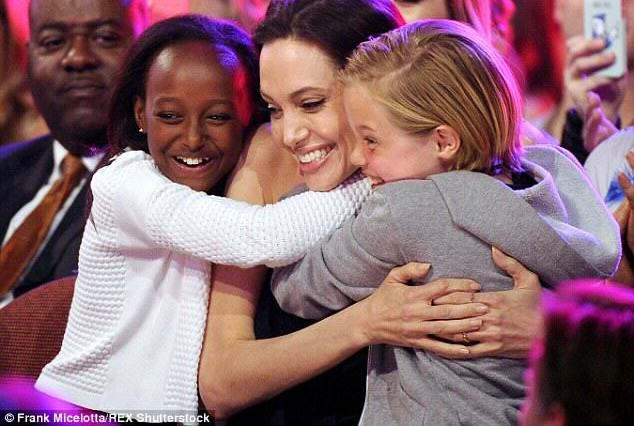 Angelina Jolie And Brad Pitt Finalise Plans To Adopt A Syrian Orphan angelina2 634x426