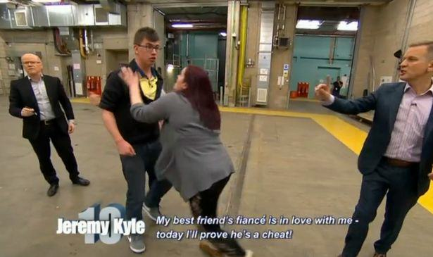 jeremy kyle sex 2 Jeremy Kyle Foursome Who Cant Stop Shagging And Scrapping Removed From Stage