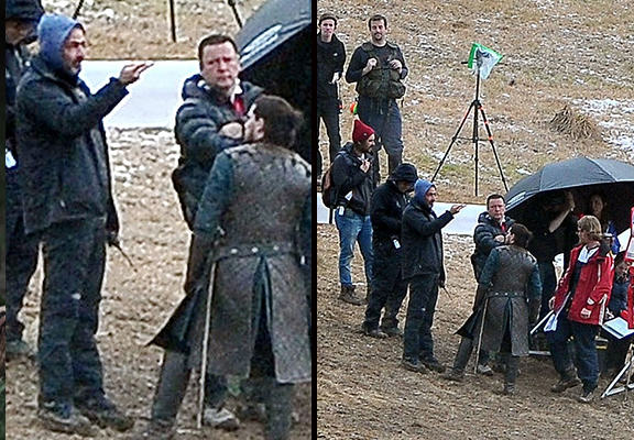 js33 Pictures From Game Of Thrones Filming May Show How Jon Snow Is Still Alive