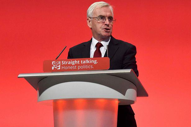 mcdonnell labour 1 Shadow Chancellor John McDonnell Names And Shames Tax Avoiders In Epic Labour Conference Speech