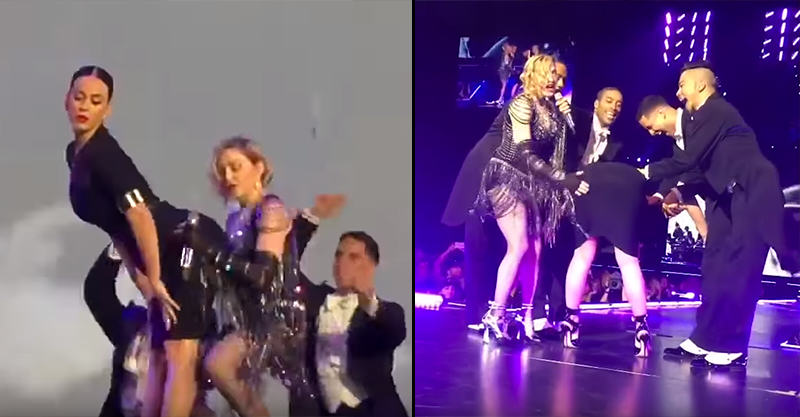 UNILAD 176425 Madonna Humped And Spanked Katy Perry On Stage Last Night, Obviously