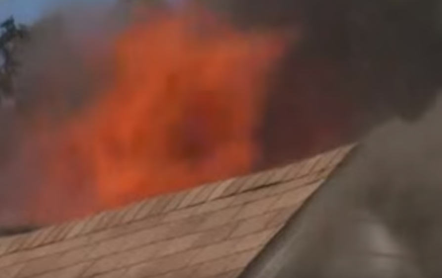 UNILAD 285660 Man Steals Girlfriends Car, Crashes It, Sets House On Fire, Dances On Roof