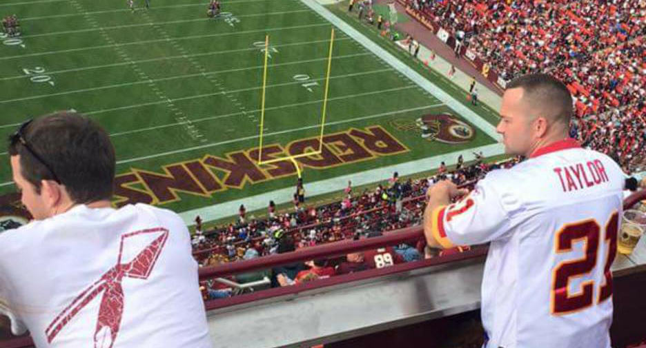 UNILAD 292357 NSFW Photo Of Man (And Wife) At Football Game Goes Viral