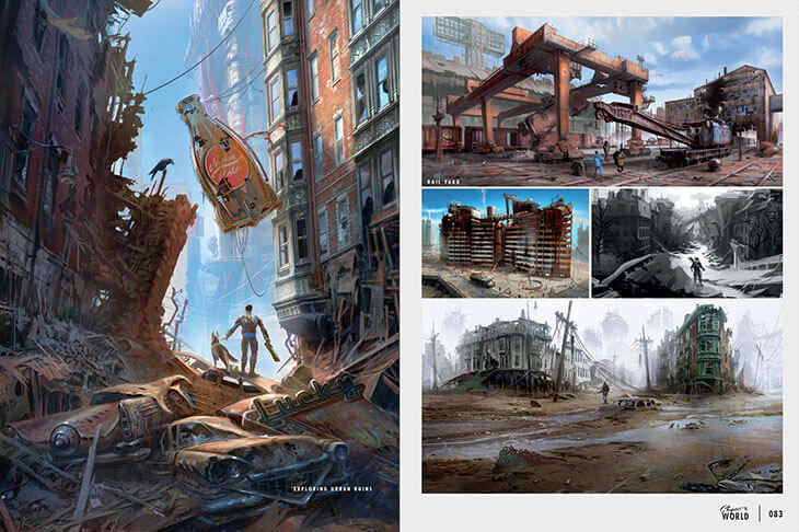 UNILAD 2957265 395437 Bethesda Have Released Some Absolutely Beautiful Fallout 4 Concept Art