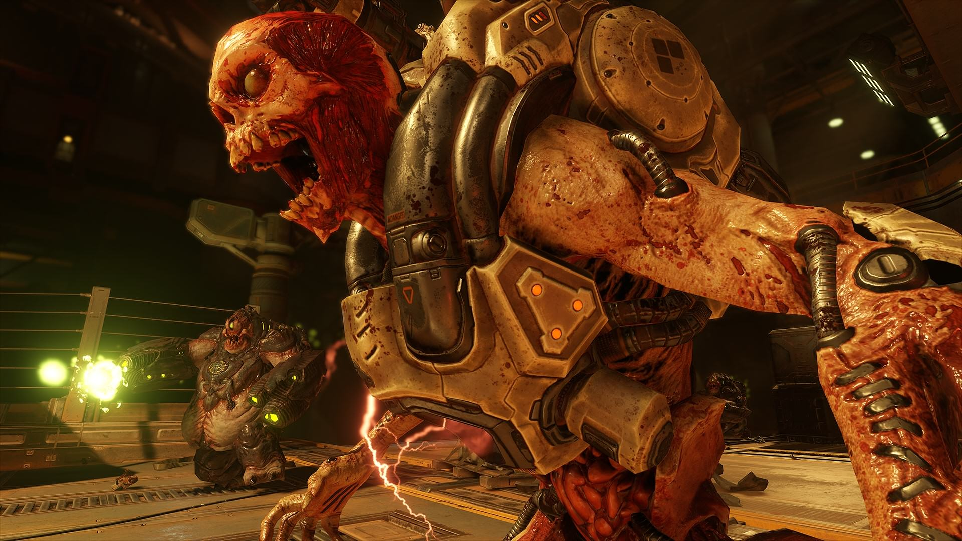 UNILAD DOOM 2016 Rev Mancubus 143798826183097 The New DOOM Multiplayer Alpha Gameplay Video Is F*cking Brutal