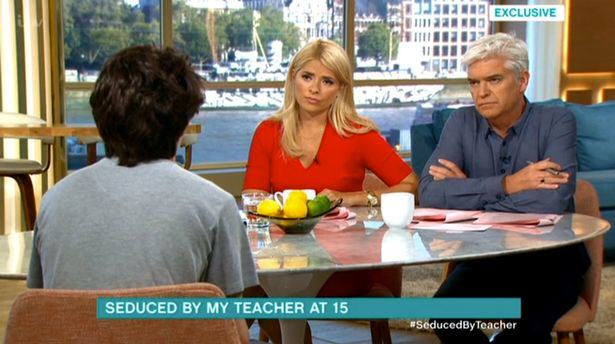 UNILAD This Morning seduced by teacher 12 Schoolboy Seduced By Teaching Assistant Speaks Out On This Morning