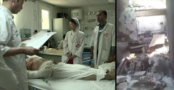 UNILAD bombing footage 34 Haunting Video Compares Before And After Footage Of Bombed Afghanistan Hospital