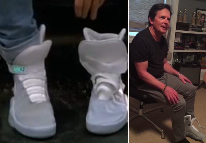Nike Have Actually Produced The Self Lacing Sneakers From Back To The Future UNILAD bttf352426