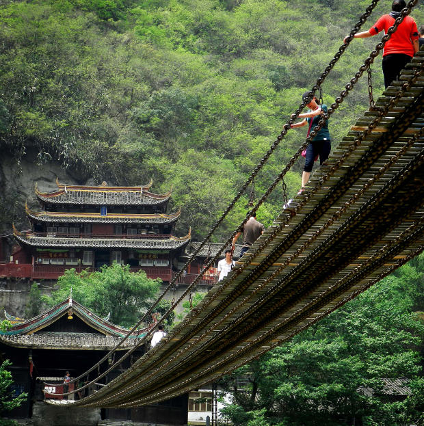 Here Are Ten Of The Most Ridiculous Bridges From Around The World UNILAD china28444