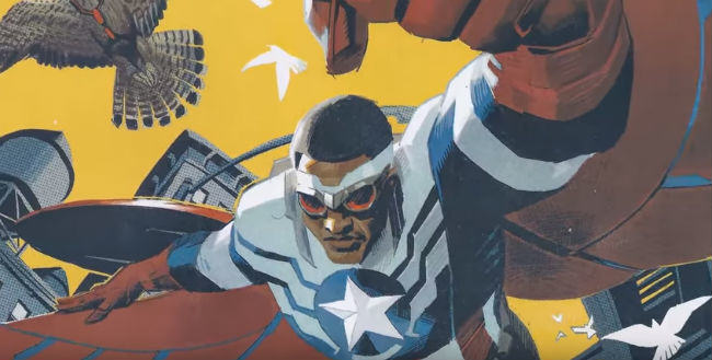 Fox News Arent Happy Captain America Is A Black Man Helping Migrants UNILAD fox captain america 239158