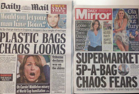 Internet Reacts Hilariously To 5p Charge On Plastic Bags UNILAD huff post7
