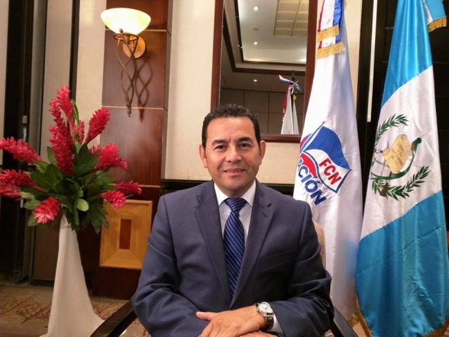 UNILAD jimmy morales 274174 This Comedian Just Got Made President Of A Country