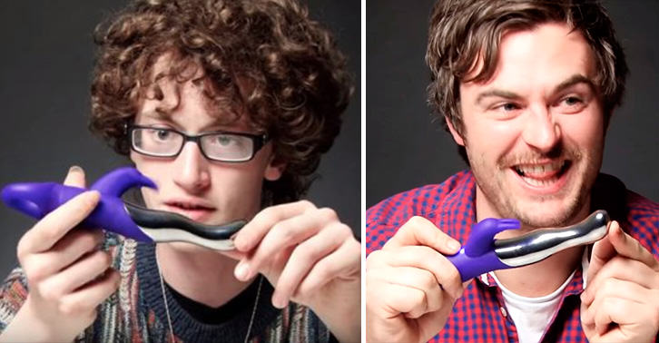UNILAD men sex toy lol 9071295398 Men Review Sex Toys, Things Get Very Awkward Very Fast