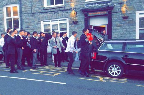 UNILAD mock funeral 164276 Lads Hold Surprise Funeral For Mate After He Gets Himself A Girlfriend