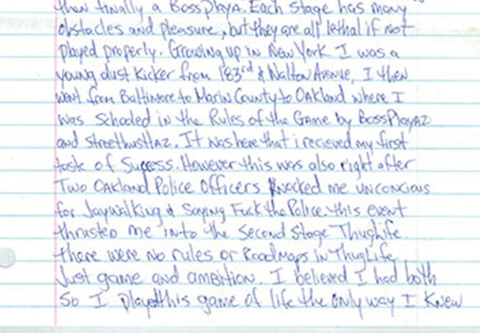 UNILAD pac2.28 Letter Penned By Tupac From Prison Before His Death Is Leaked