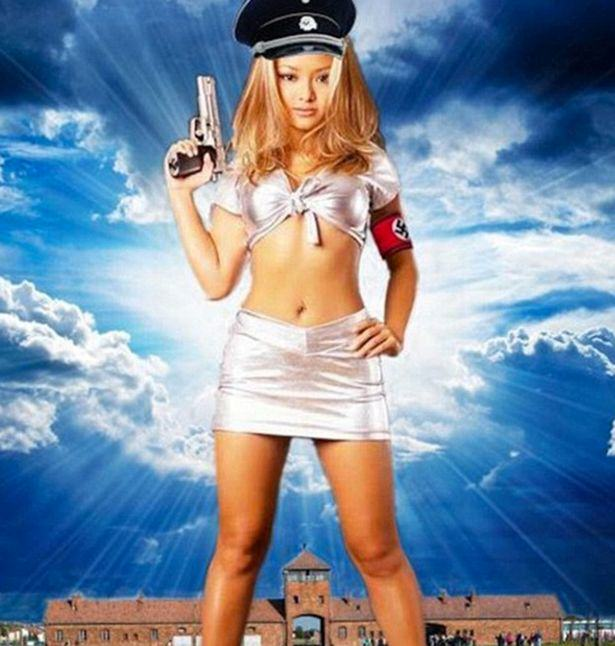 UNILAD tila319244 Tila Tequila Posts Picture Of Her Baby Dressed As Hitler In Another Online Rant