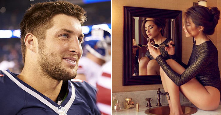 FaceThumb29 Miss Universe Dumped Tim Tebow Because He Wouldnt Have Sex With Her