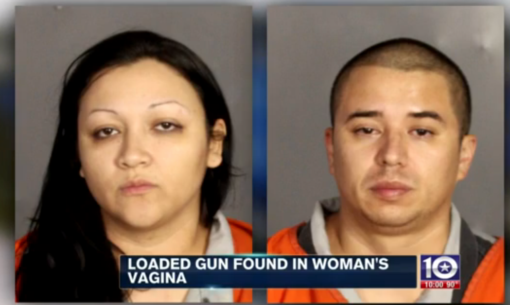 Screen Shot 2015 11 23 at 00.18.48 Cops Shocked As Woman Reveals A Loaded Gun Is In Her Vagina
